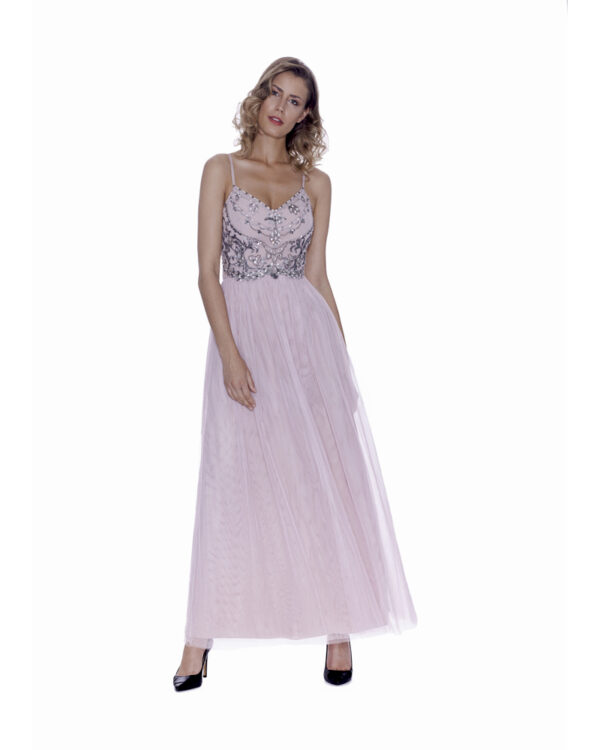 ABITO PRINCESS CON STOLA IN TULLE