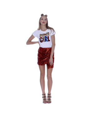 T-SHIRT SUPER GIRL