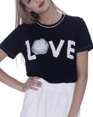 T-SHIRT LOVE BOUCLETTE
