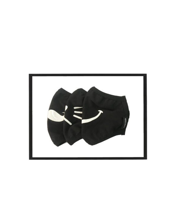 Set of 2 Emoji woman masks