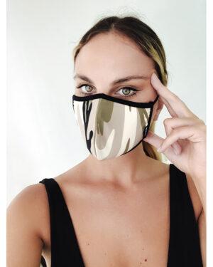 Set of 2 Army  woman masks