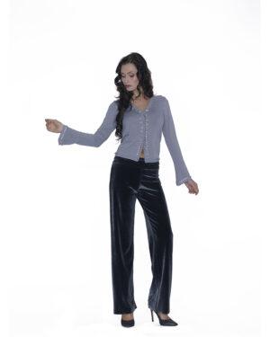 Pantalone velvet