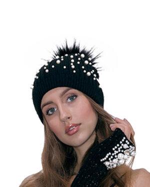 Cappello perle
