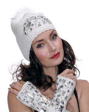 Cappello swaroski
