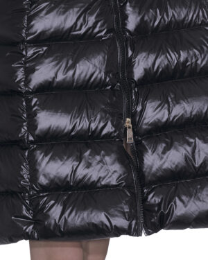 Long guepiere down jacket
