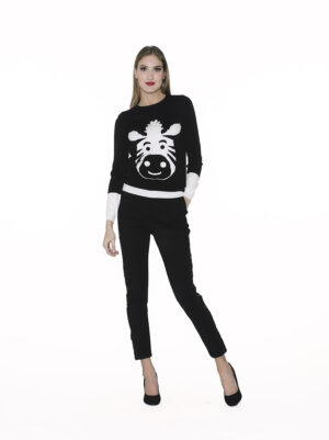 Sweater with animals