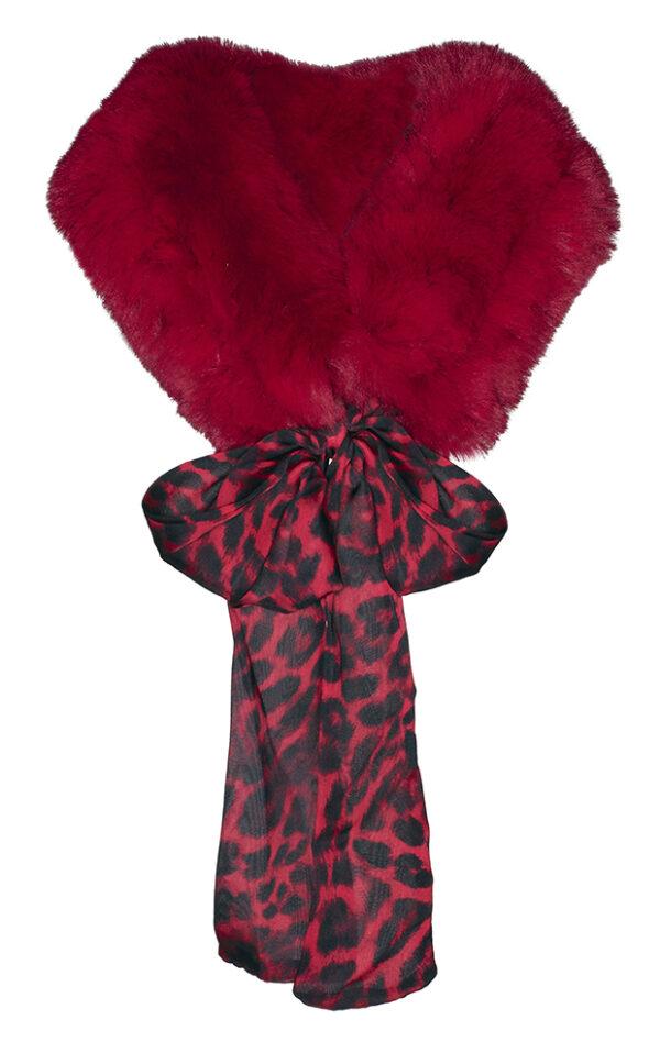 Crewneck scarf