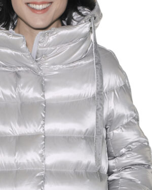 Long lurex sdownjacket
