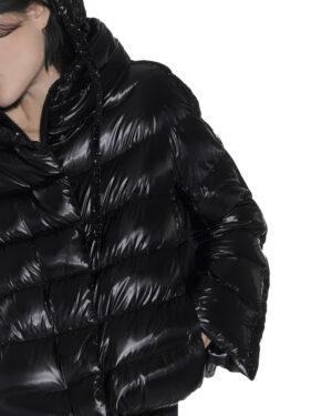 Short lurex sdownjacket