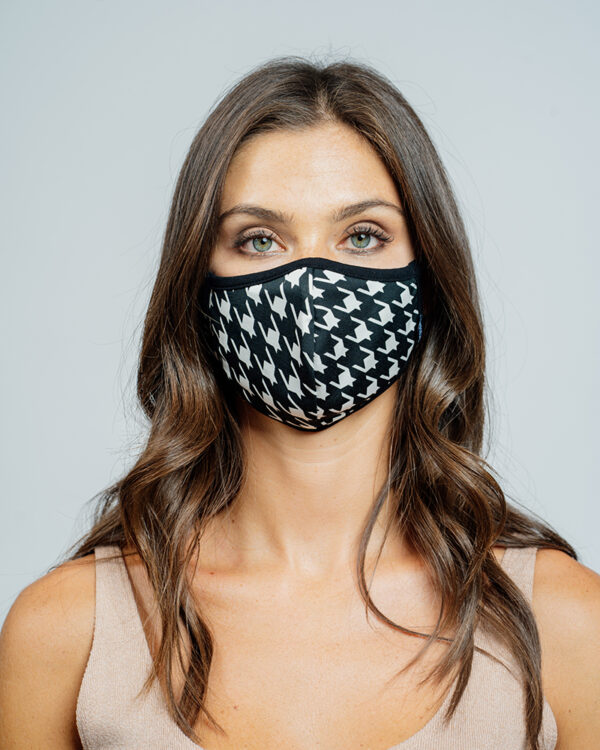 Mask stampa pied de poulle