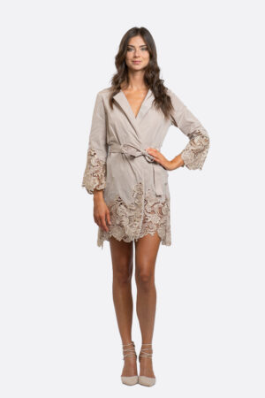 Lace Trench