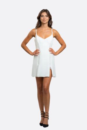 Strass Zip Dress