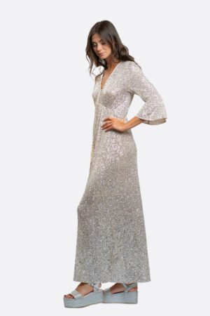 Long Paillettes Dress