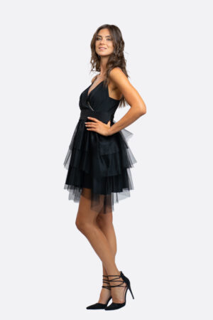 Strass And Tulle Dress