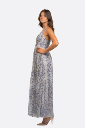 Long Dress With Stones