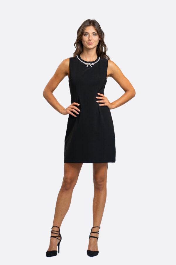 Bow Strass Dress