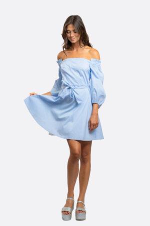 Puffy Sleeves Dress