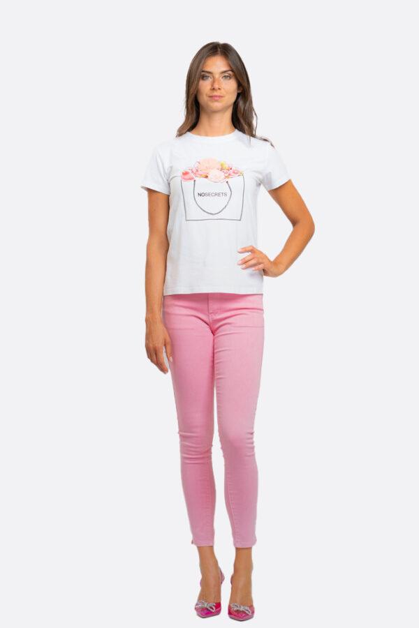 T-shirt borsetta No Secrets