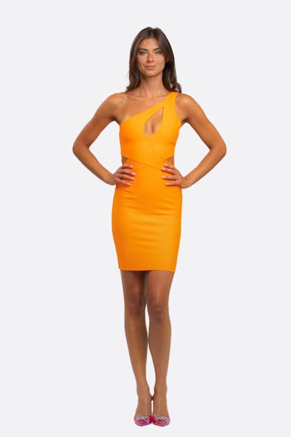 Oneshoulder Bandage Dress