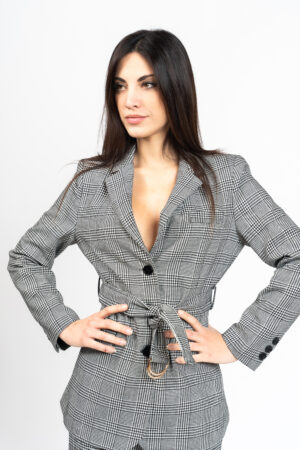 Jacket with belt