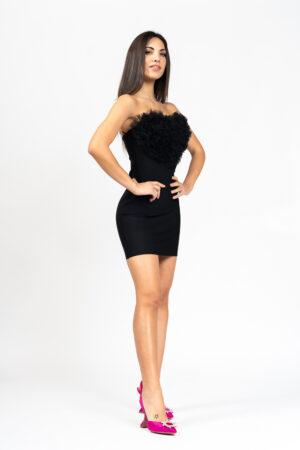 Heart tulle dress