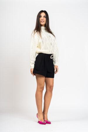 Crystal sweater