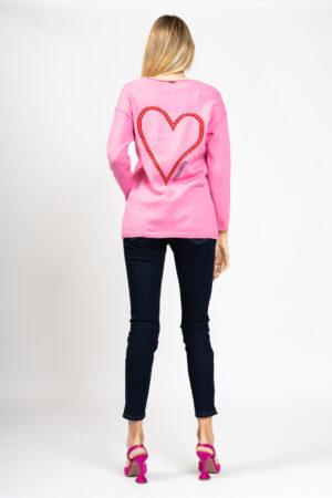 Heart cardigan